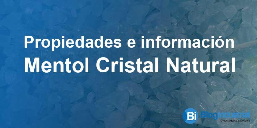 Mentol Cristal Natural